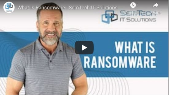 Five Simple, Effective Ways to Protect Your Company from Ransomware