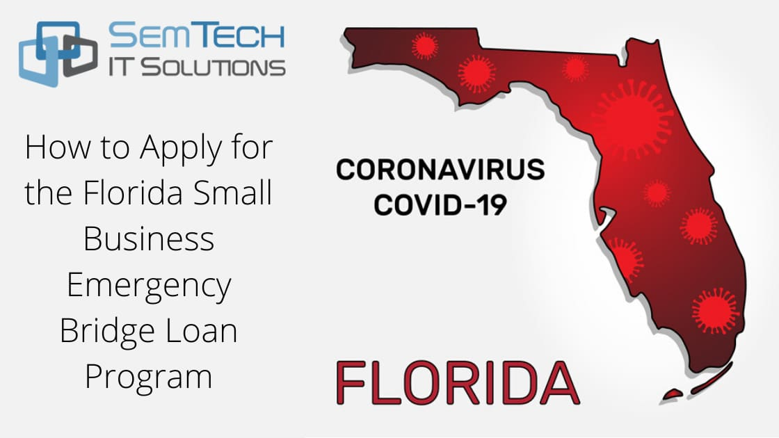 How to Apply for the Florida Small Business Emergency Bridge Loan Program