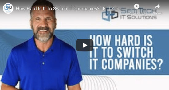 Switching IT Companies In Orlando
