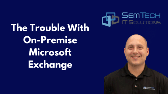 The Trouble With On-Premise Microsoft Exchange